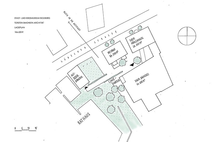 Förderverein Kreis- und Stadtmuseum Lageplan
